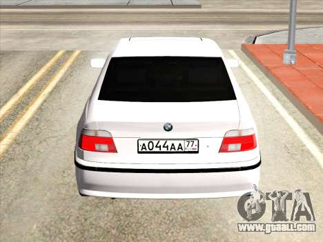 BMW 530d E39 for GTA San Andreas right view