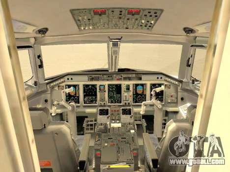 Embraer 175 HOUSE for GTA San Andreas wheels