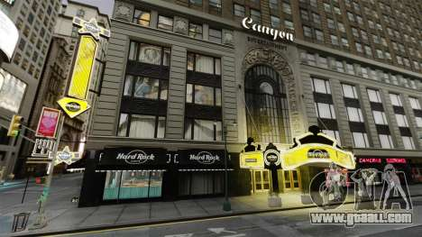 The Hard Rock cafe in times square for GTA 4
