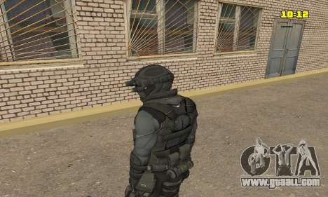 Archer from game Splinter Cell Conviction for GTA San Andreas second screenshot
