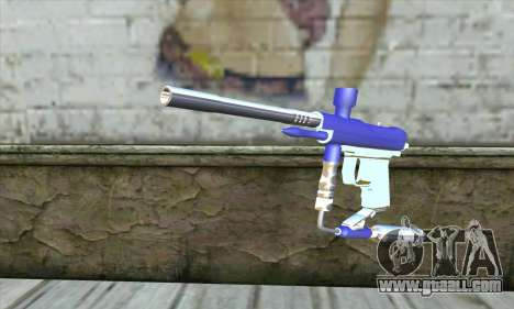 Paintball Gun for GTA San Andreas