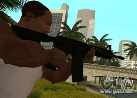 M4 CQB for GTA San Andreas second screenshot