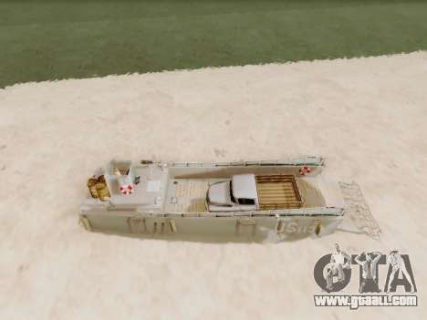 Landing Craft for GTA San Andreas side view