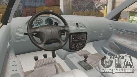 Daewoo Nubira I Wagon CDX PL 1998 for GTA 4 back view