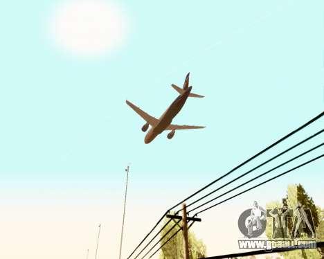 Airbus A320-200 Aeroflot for GTA San Andreas engine