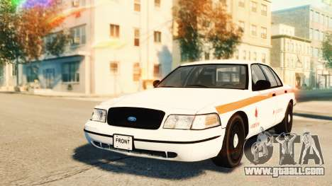 Ford Crown Victoria 2007 Vodafone for GTA 4