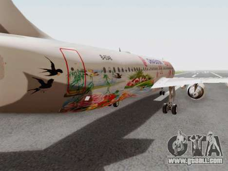 Airbus A320-211 China Eastern for GTA San Andreas inner view