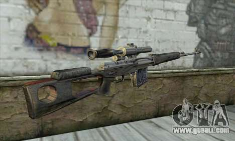 Sniper Rifle from a Stalker for GTA San Andreas second screenshot