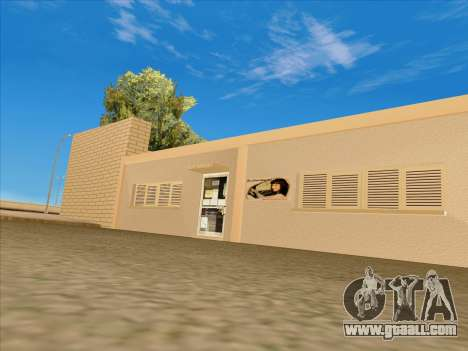 Updated textures school of driving for GTA San Andreas third screenshot