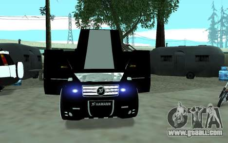Mercedes G65 new tuninG for GTA San Andreas right view