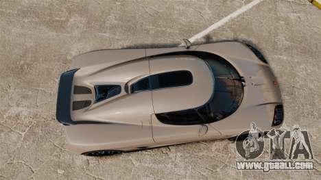 Koenigsegg CCX for GTA 4 right view