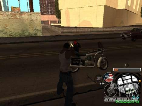 C-HUD Andy Cardozo for GTA San Andreas fifth screenshot
