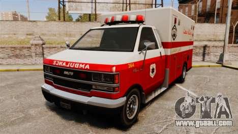 Iranian paint ambulance for GTA 4
