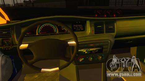 Opel Vectra B TUNING for GTA San Andreas back view