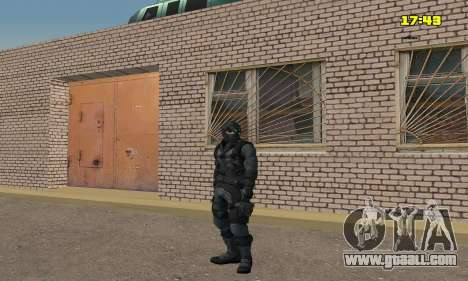 Archer from game Splinter Cell Conviction for GTA San Andreas forth screenshot