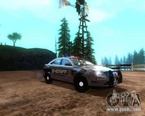 Ford Interceptor Los Santos County Sheriff for GTA San Andreas