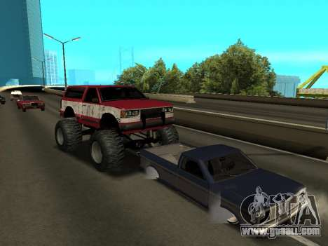 Street Monster for GTA San Andreas upper view