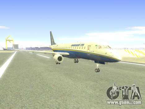 Embraer 175 HOUSE for GTA San Andreas back left view
