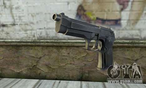 The gun from Stalker for GTA San Andreas