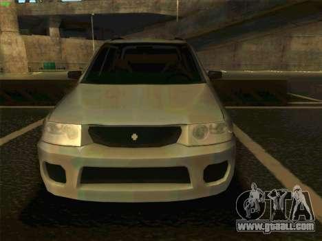 Mazda Demio 1998 for GTA San Andreas right view