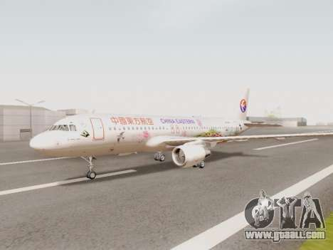 Airbus A320-211 China Eastern for GTA San Andreas