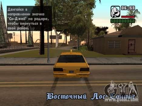 AutoDriver for GTA San Andreas third screenshot