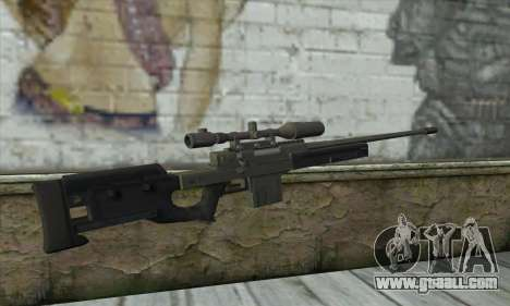 GTA V Sniper rifle for GTA San Andreas second screenshot