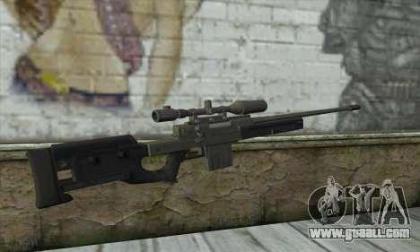 GTA V Sniper rifle for GTA San Andreas second screenshot