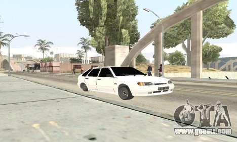 VAZ 2114 Avtosh for GTA San Andreas left view