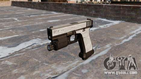 The pistol Glock 20 ACU Digital for GTA 4 third screenshot