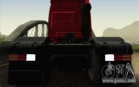 Mercedes-Benz Actros for GTA San Andreas side view