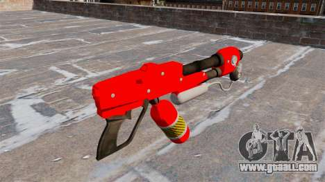 The flamethrower MX-295 for GTA 4 second screenshot