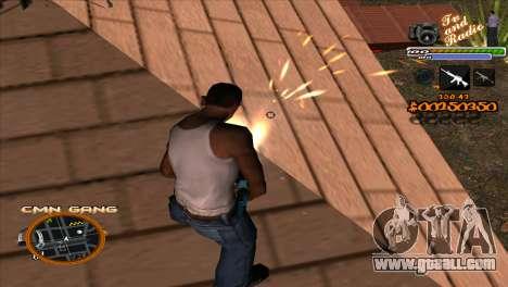 C-HUD TV-Center for GTA San Andreas third screenshot
