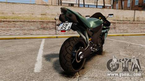 Yamaha R1 RN12 [Update] for GTA 4 right view