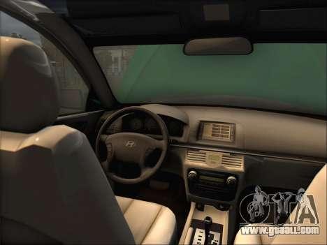 Hyundai Sonata 2009 for GTA San Andreas left view