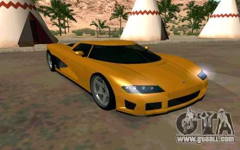 GTA V Entity XF for GTA San Andreas