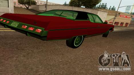 Chevrolet Caprice Coupe 1973 for GTA San Andreas right view