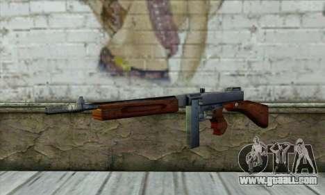 Thompson M1 for GTA San Andreas