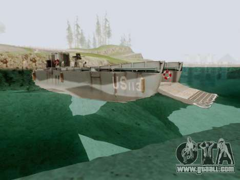 Landing Craft for GTA San Andreas right view
