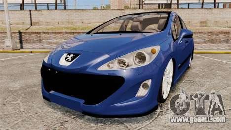 Peugeot 308 GTI for GTA 4