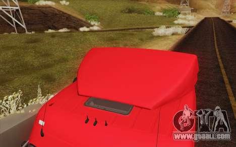 Mercedes-Benz Actros for GTA San Andreas engine
