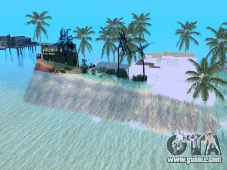 New island v1.0 for GTA San Andreas eighth screenshot