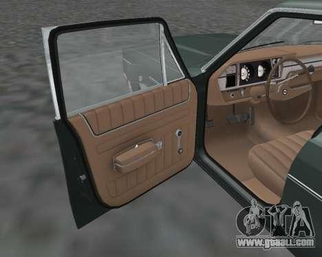AMC Matador 1972 for GTA San Andreas back view