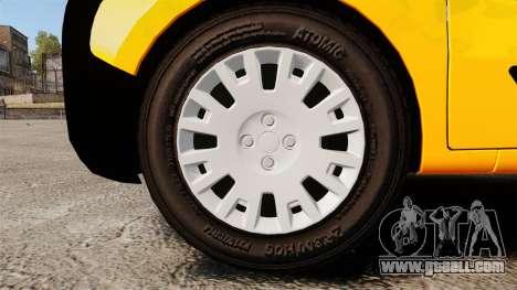 Peugeot Bipper LP EXPRESS [ELS] for GTA 4 back view