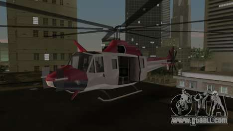Bell HH-1D for GTA Vice City left view