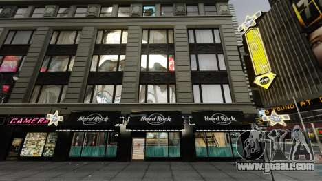 The Hard Rock cafe in times square for GTA 4 second screenshot