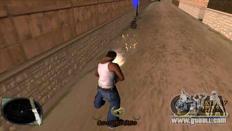C-HUD Army Gang for GTA San Andreas third screenshot