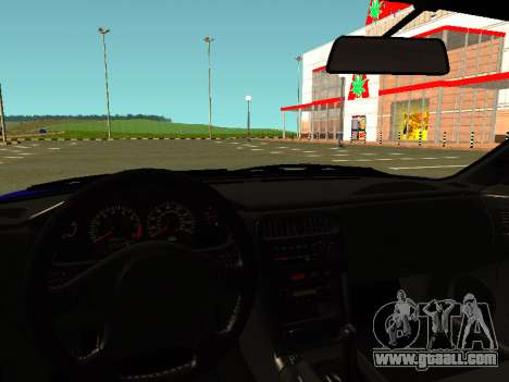 Nissan Silvia S14 Kouki for GTA San Andreas back view