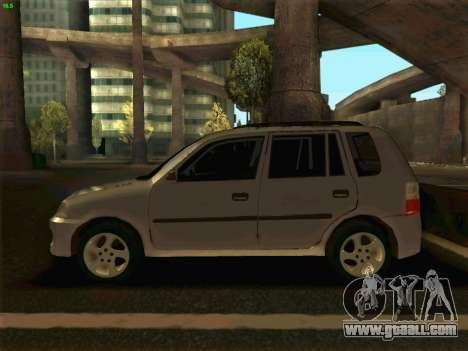Mazda Demio 1998 for GTA San Andreas left view