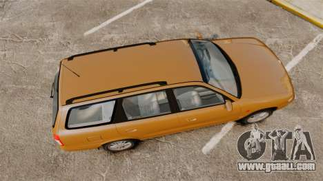 Daewoo Nubira I Wagon CDX PL 1998 for GTA 4 right view